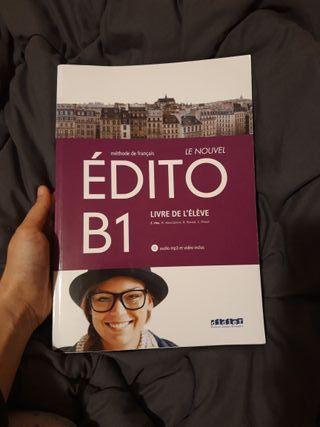 Édito B1. LIVRE DE L'ÉLÈVE libro de francés