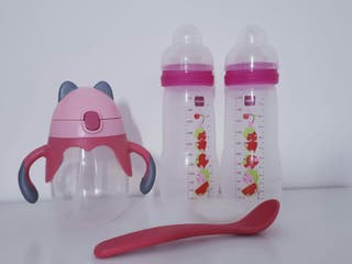 biberon mam y taza beber bebe