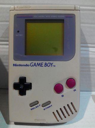 Game boy clásica dmg-01. Nintendo 1989.