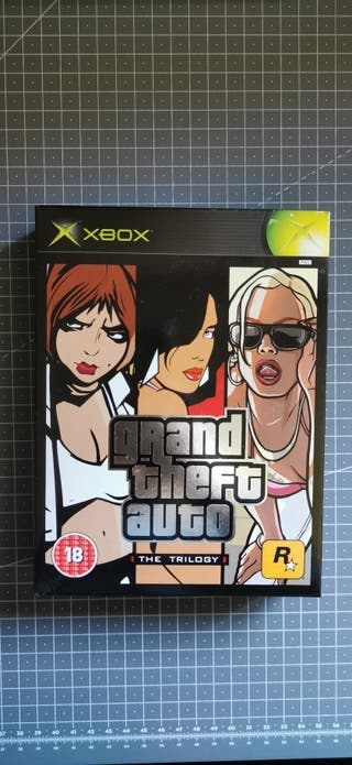 Grand Theft Auto The Trilogy Xbox
