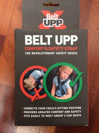 Cinturón seguridad niños coche Belt Upp