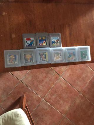 Pack juegos game boy clasica