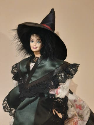 Barbie con traje de Bruja