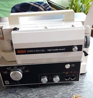 Proyector de cine super 8 sonoro