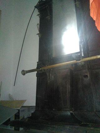 antiguo recibidor a restaurar