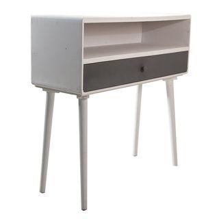 Mueble recibidor consola blanco estilo vintage