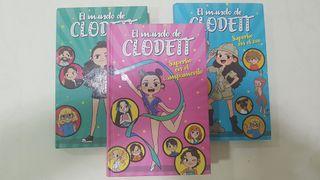 """El mundo de Clodett"" ( 3 libros)"
