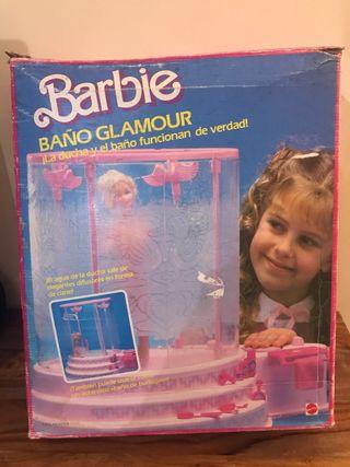 """Bañera de Barbie """"Baño Glamour"""" 1985"""