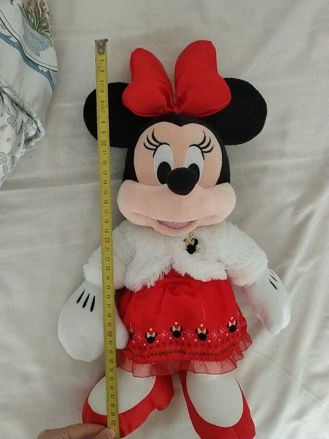 peluche minnie navidad 2018 de Disney store