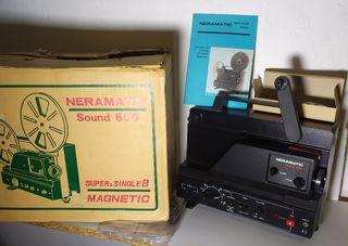 Proyector Neramatic Super 8mm Single 8 Sound 500