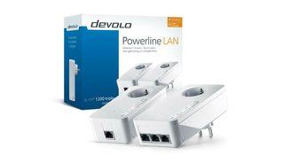 PLC Devolo dlan 1200 triple+ starter kit