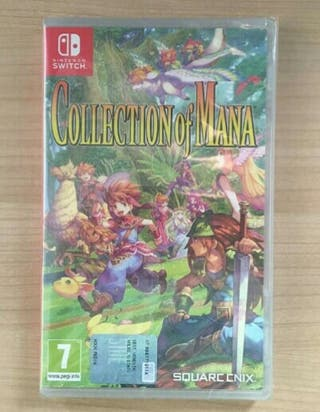 Collection Of Mana NUEVO Nintendo Switch