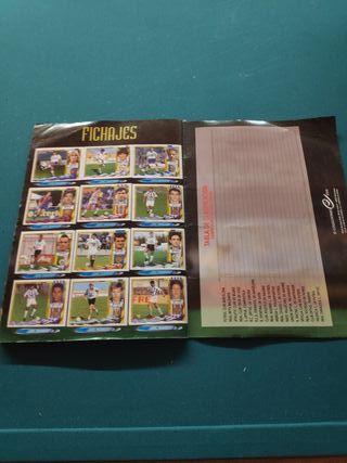 Album único con errata temporada 95/96 y completo