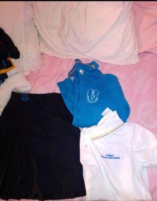 uniforme de colegio María Inmaculada