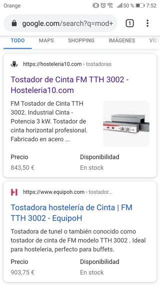 Tostadora TTH 3002