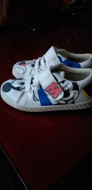 zapatillas Zara babykids mickey mouse
