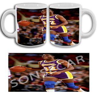 Taza Magic Johnson. NBA. Varios modelos. Ver fotos
