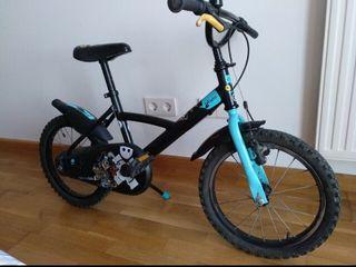 "Bicicleta 16"" con freno de tambor"