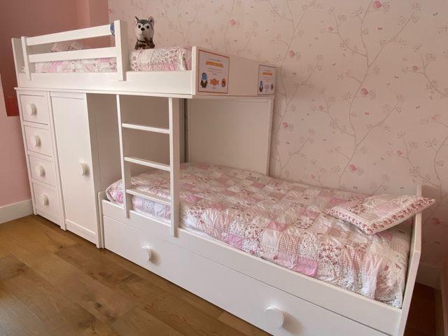 Dormitorio litera infantil juvenil