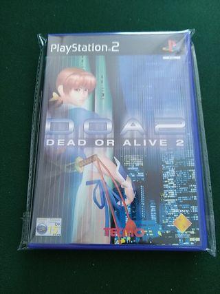 dead or alive 2 nuevo PlayStation 2
