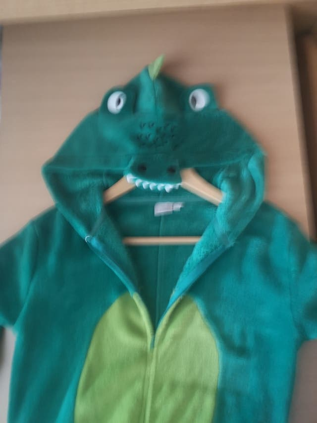 Mono pijama bata Dragón talla 8-10