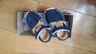 sandalia menorquinas