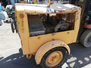 Compresor eléctrico de aire comprimido para obras