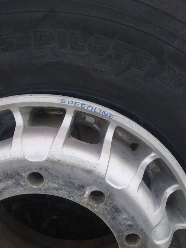 Juego de llantas Speedline para camion r22.5