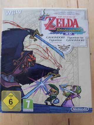 Zelda the Windwaker hd Edición Limitada de Wii u