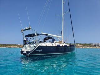 Alquiler Velero de 15 metros Ibiza y Formentera.