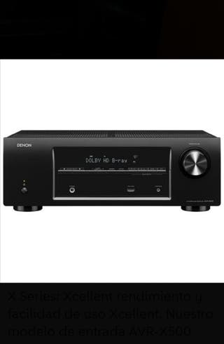 DENON AVRX-500 Receptor Home Cinema