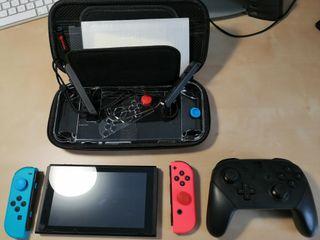 Nintendo Swich + Pro + Carcasa