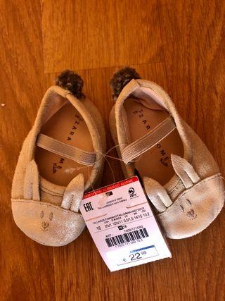 Zapatos zara home niña 16