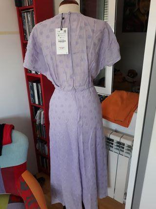 Vestido lila nuevo