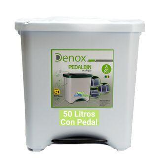 Cubo de basura ecológico 50 litros Blanco