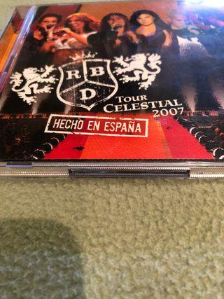CD RBD Tour Celestial 2007