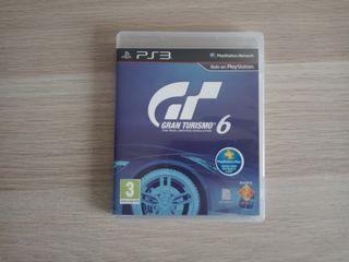 Gran Turismo 6 para Ps3.