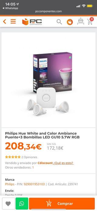 Bombillas Philips Hue