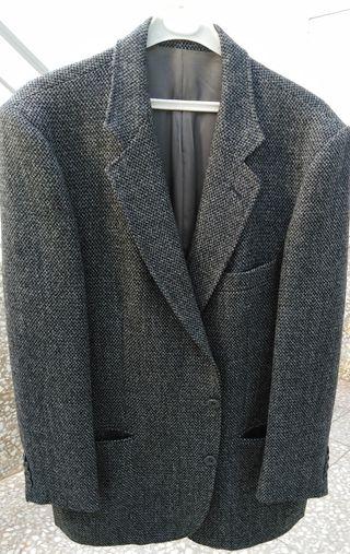 chaqueta de traje 100% lana