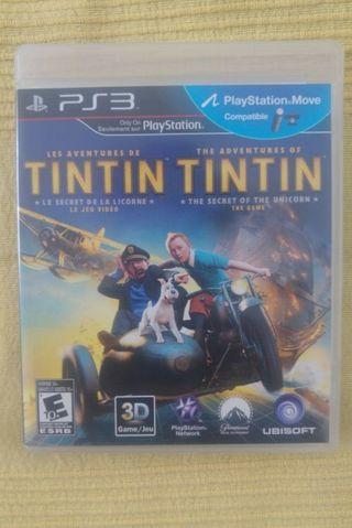 Juego ps3 Tintín