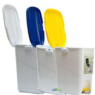 Cubo de basura ecológico 25 litros