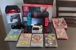 Superpack Nintendo Switch (no venta por separado)