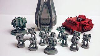 Figuras de Wargames, Warhammer, X-Wing, legion
