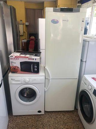 pack nevera lavadora microondas