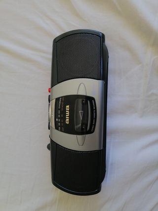 Radiocassette aiwa