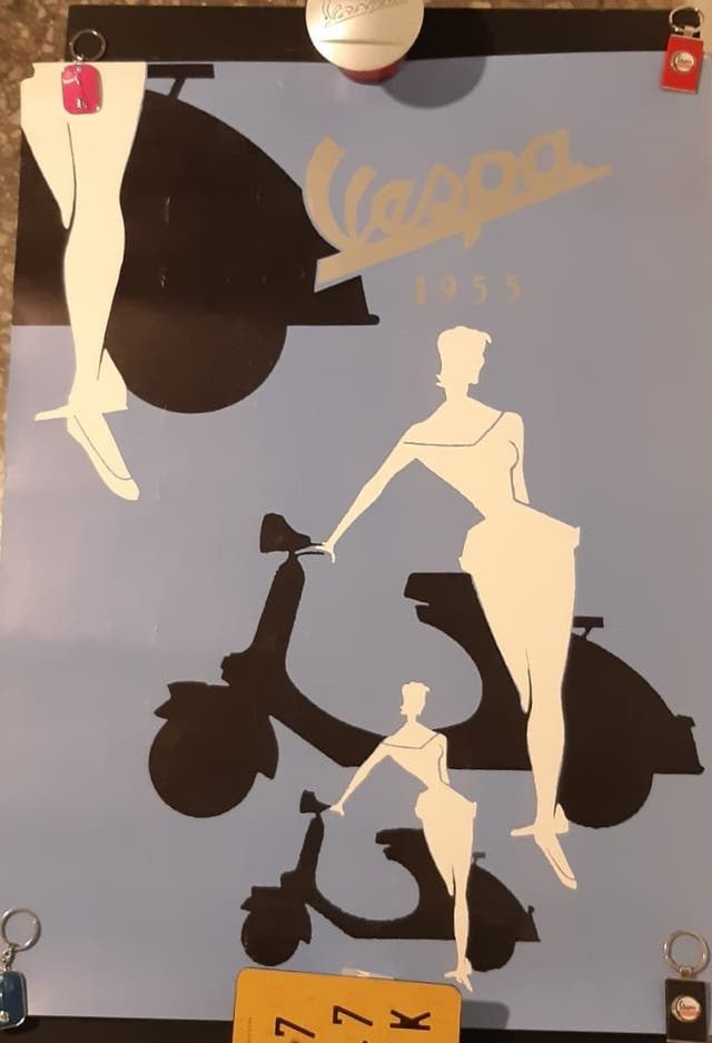Poster Vespa Original