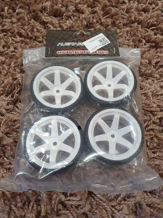 neumáticos driff para coches escala 1/10