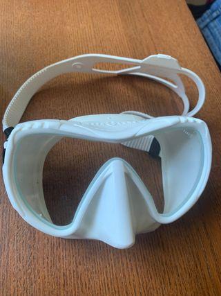 Mascara buceo aqualung