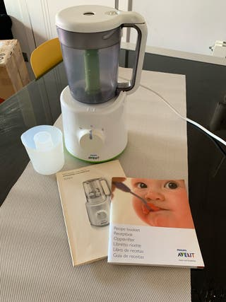 Robot de cocina para comida infantil