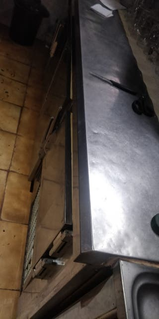 Cámara frigorífica encimera barra